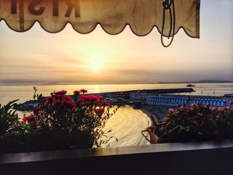 last sunset in beautiful Lipari