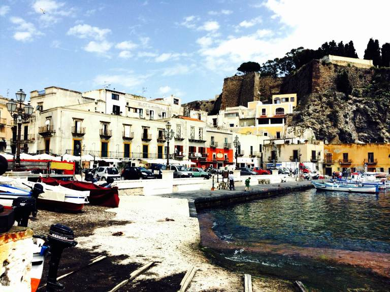 We have arrived in Lipari