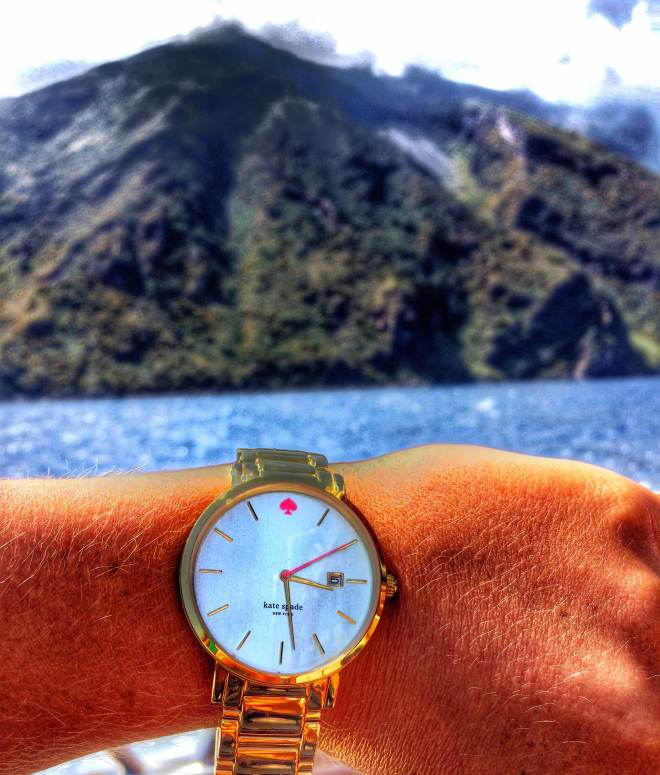 what time is it? Time to hike a volcano!