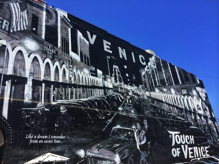 In Venice graffiti is art