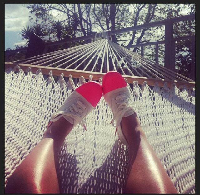 My happy place is my hammock life on my porch