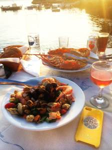 Seafood, sunsets, and rose...oh my!!!