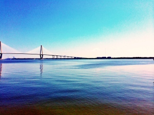 The beautiful Ravenel bridge