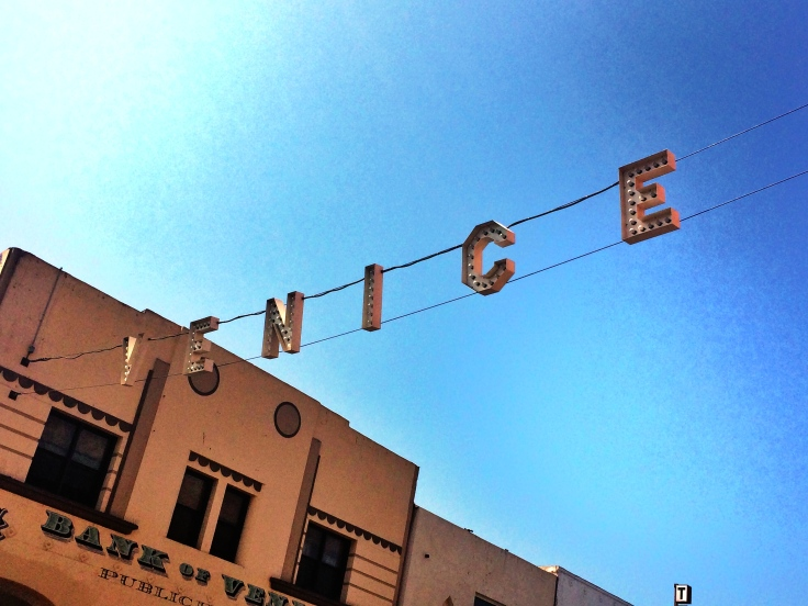 The famous Venice Sign